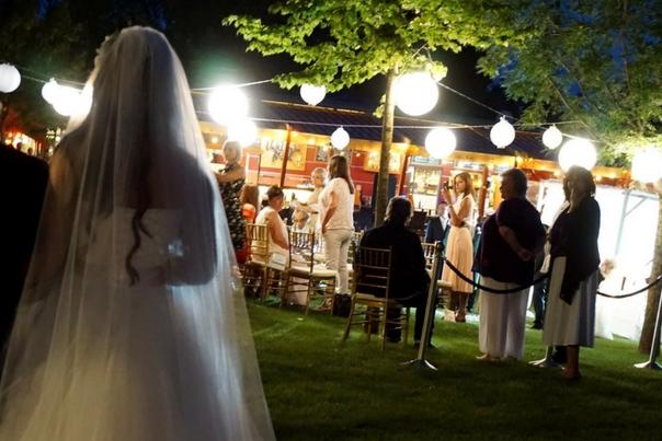 kopaszi gát, esküvő