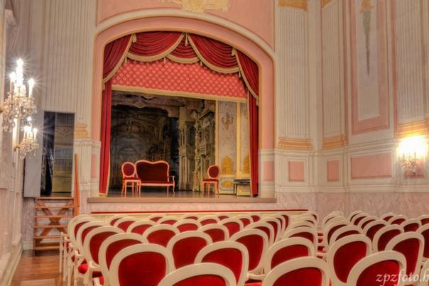 barokk színház, királyi kastély