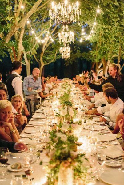 esküvői vacsora